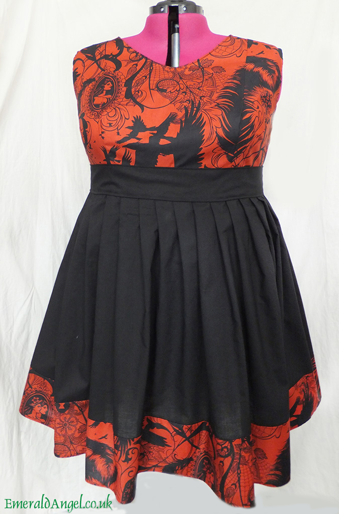 custom plus size gothic dress
