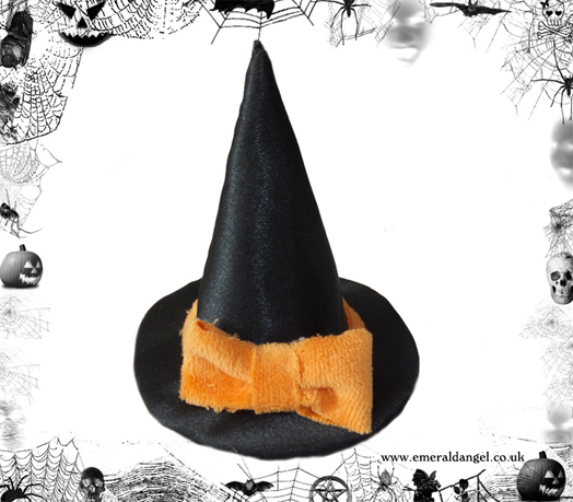 cat pet costume witch hat halloween