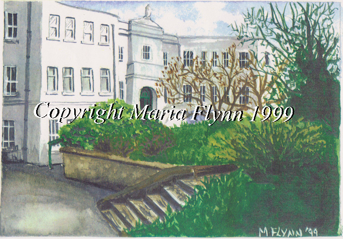 convent of the sacred heart roscrea art print