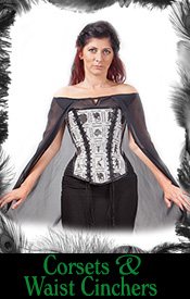 burlesque, gothic, rockabilly corsets and waist cinchers