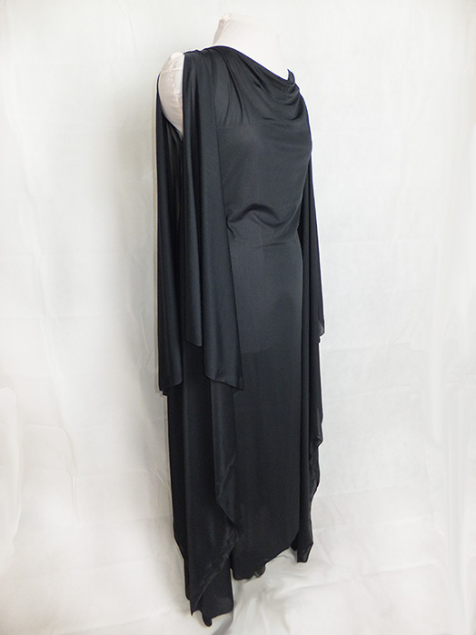 Witch Gothic Drape Dress