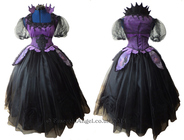 gothic evil queen custom costume