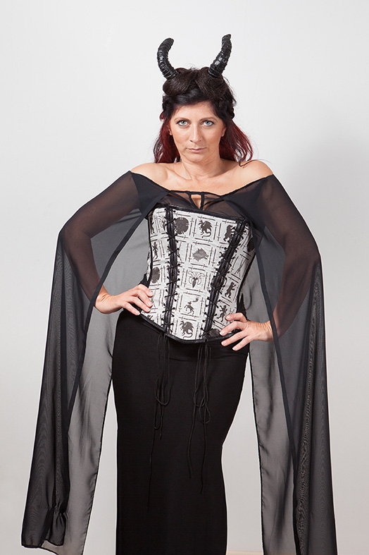 Game of Thrones Chiffon Cape Top width=