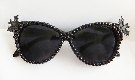 Bats & Pearls Glasses