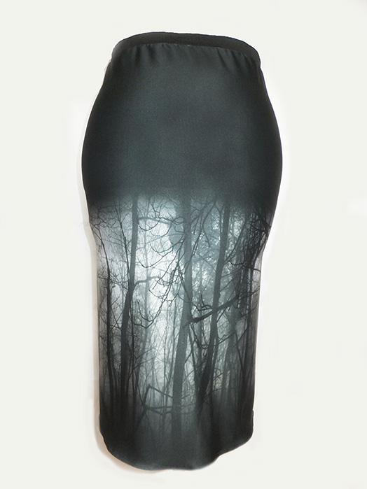 Haunted Forest Pencil Skirt