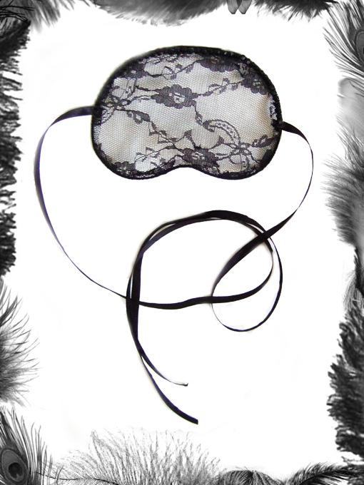 Black lace & Rhinestone Mask, Gothic, Masquerade