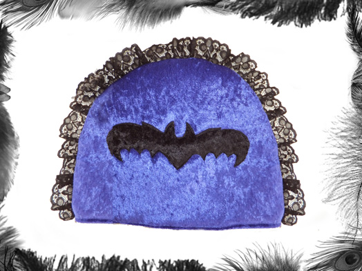 Velvet, Lace & Bat Gothic Tea Cosy
