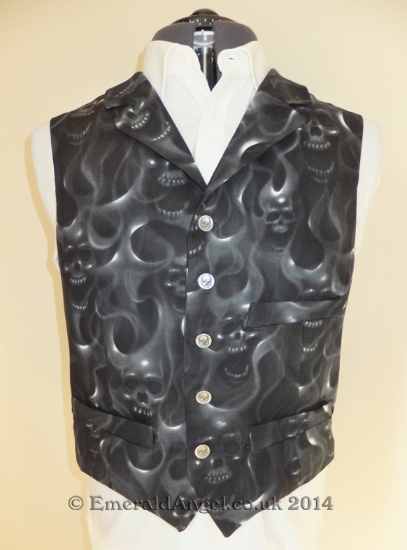 mens custom alternative waistcoat