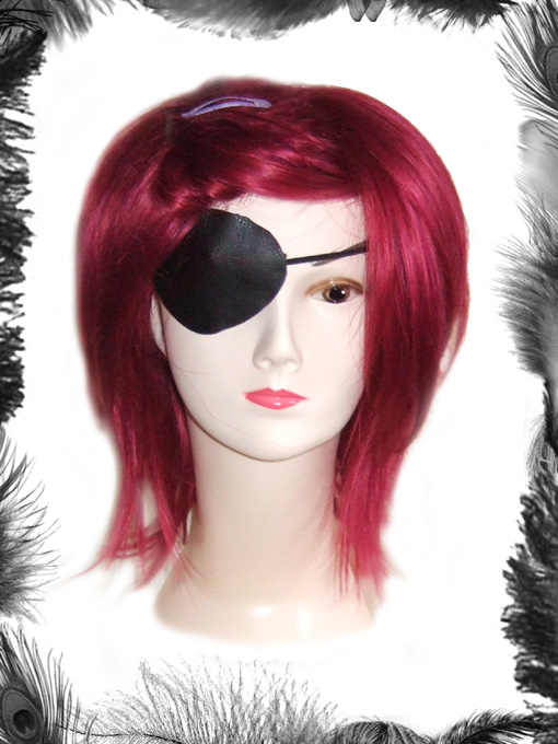 Faux Leather Eye Patch