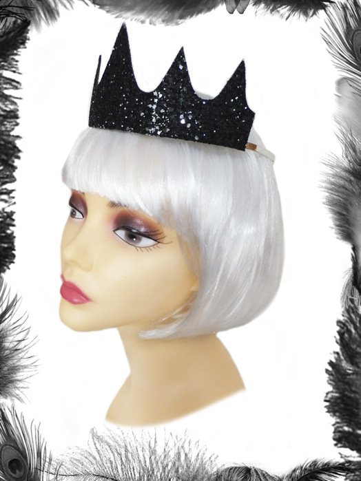 Sparkly Glitter Crown, Party wear