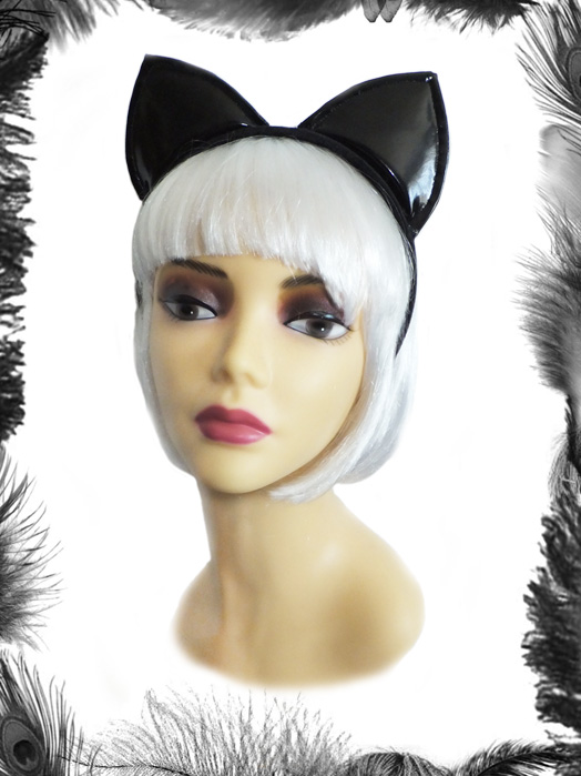 Pvc Cat Ears Headband