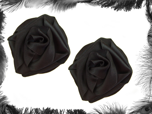 satin rose burlesque burlesque pasties