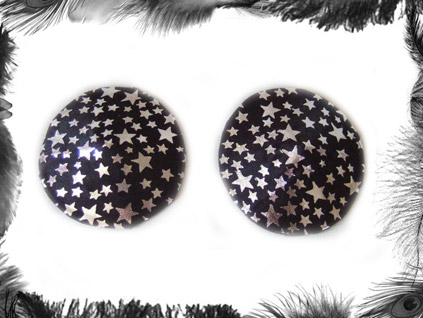 stars nippel pasties burlesque wear