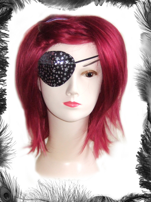 Stars Eye Patch, Glam Rock, Pirate