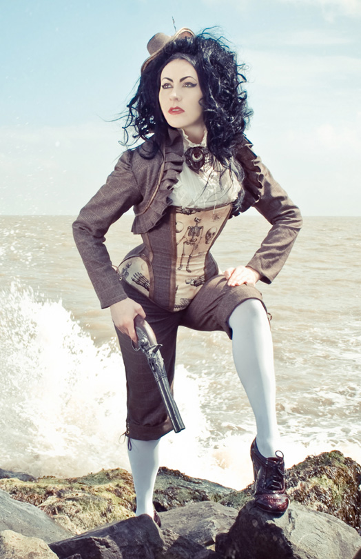 steampunk tweed breeks, bloomers