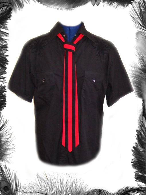 Stripes Tie, Mod, Retro Style