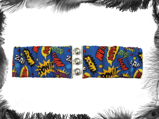 Superhero Pow Elastic Cinch Belt
