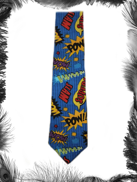 superhero batman tie, geek, comic