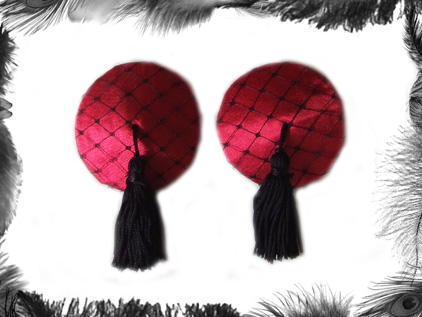 satin burlesque tassels burlesque wear