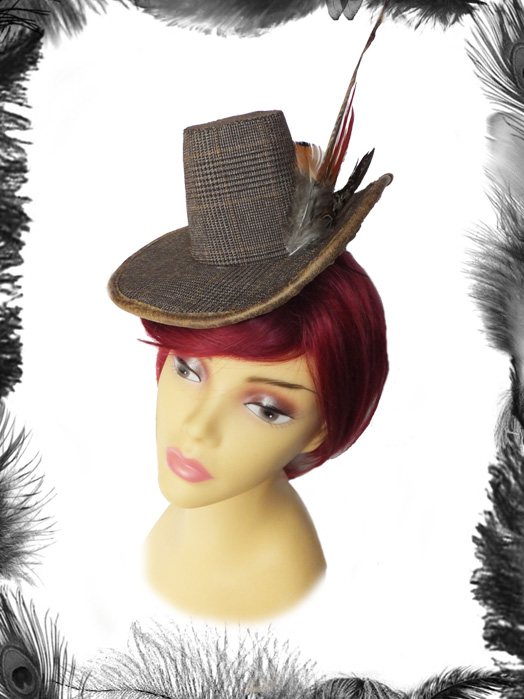 Tweed & Feathers Hunting Hat