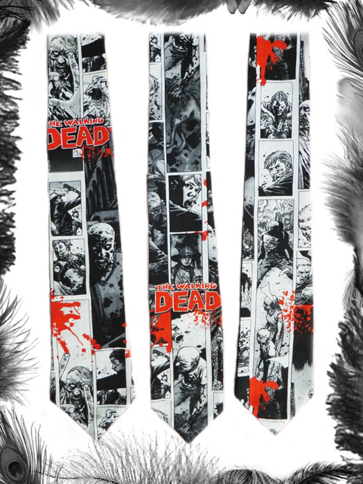 the walking dead tie