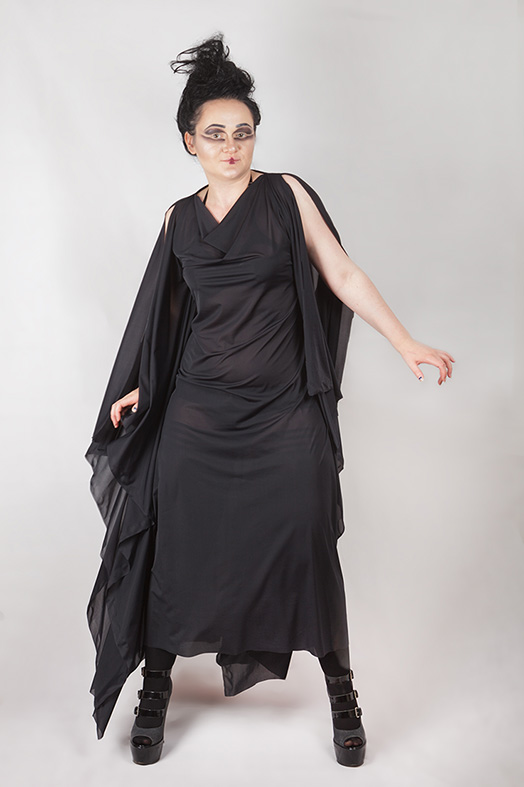 Witching Hour Drape Dress