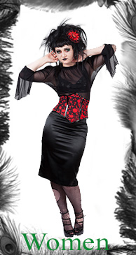 womens gothic & vintage inspired clothing