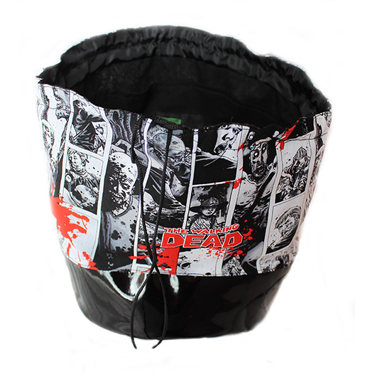 gothic horror zombie make up bag